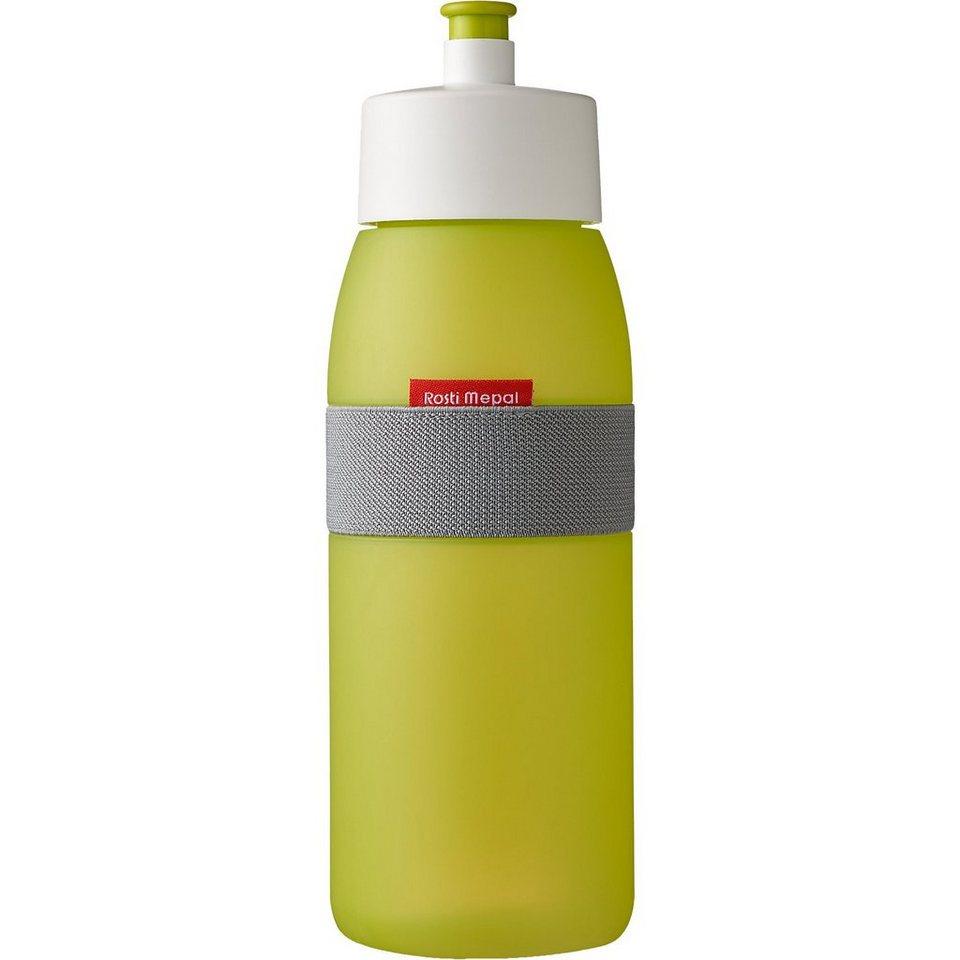 Trinkflasche ellipse lime, 500 ml in grün