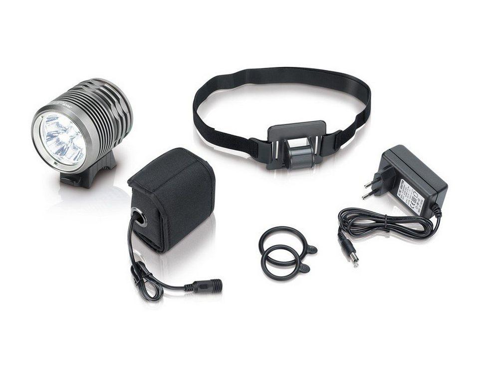 XLC Fahrradbeleuchtung »Pro CL-F15 Helmlampe 3000 Lumen«
