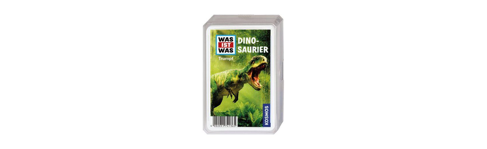 Kosmos WAS IST WAS Dinosaurier Trumpfspiel