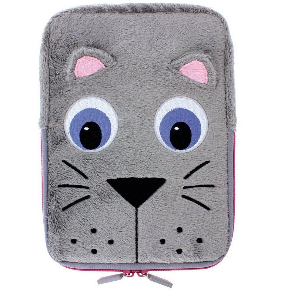 TabZoo Sleeve Cat für Tablets bis 25,6 cm (10,1) in Grau