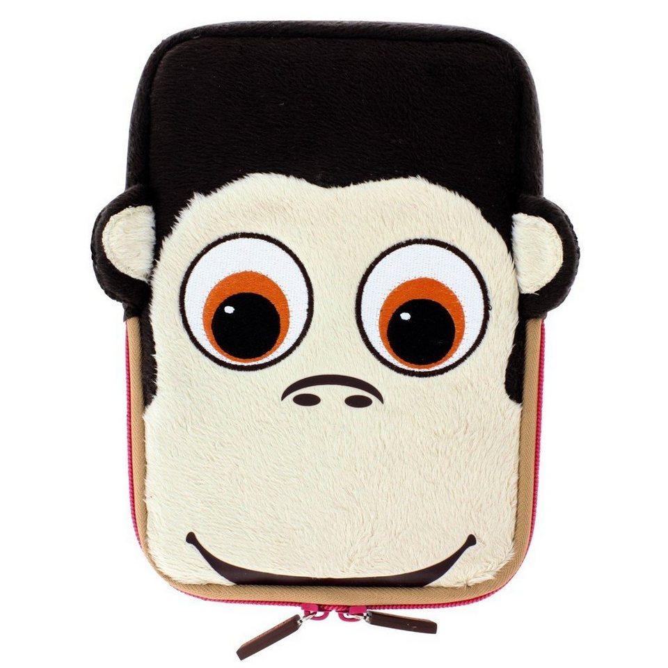 TabZoo Sleeve Monkey für Tablets bis 20,3 cm (8) in Braun