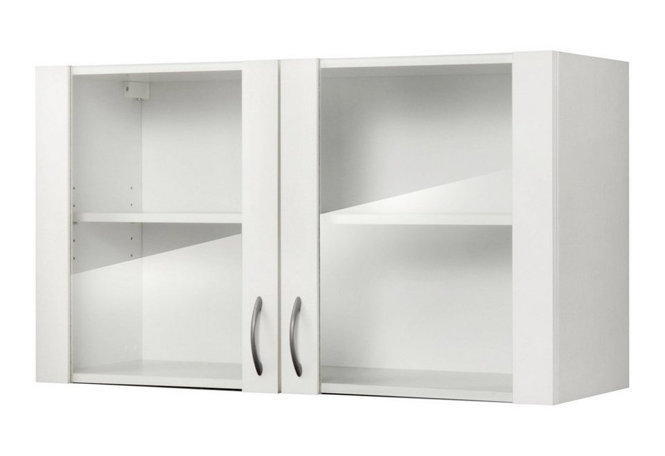 Küchenhängeschrank »Valencia«, B/T/H: 100/35/56,5 cm in weiß