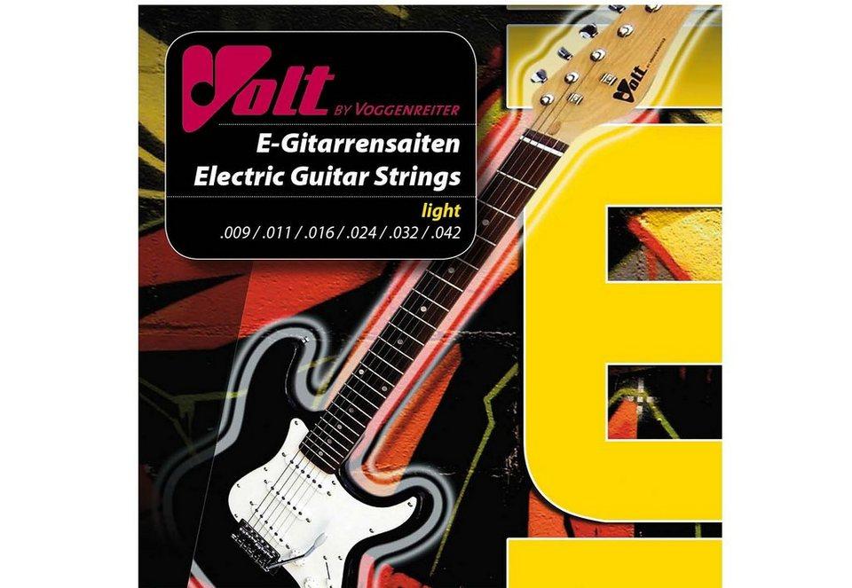 E-Gitarrensaiten aus Stahl, »VOLT«, Voggenreiter