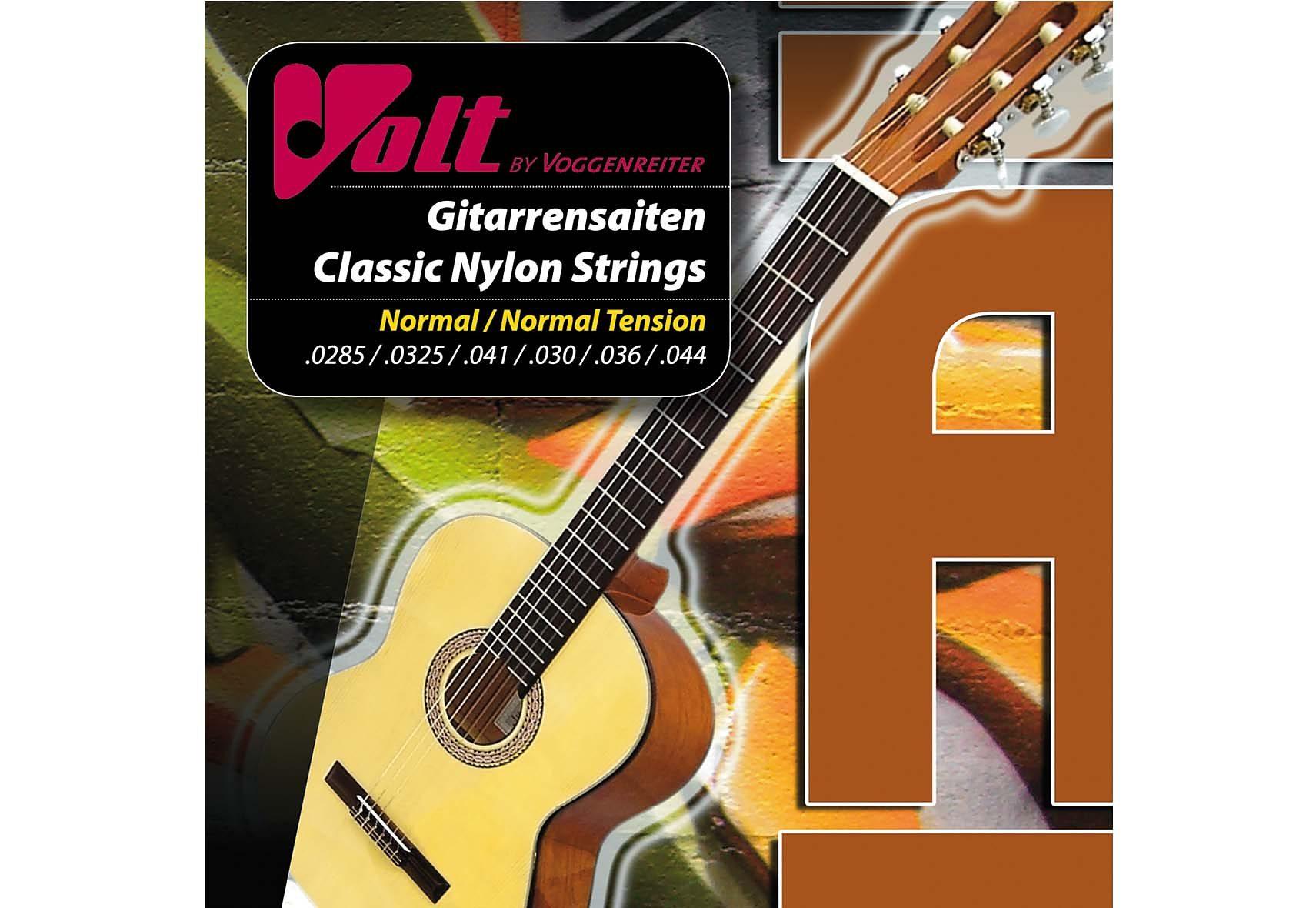 Gitarrensaiten für Klassikgitarren »VOLT - Nylon«, Voggenreiter