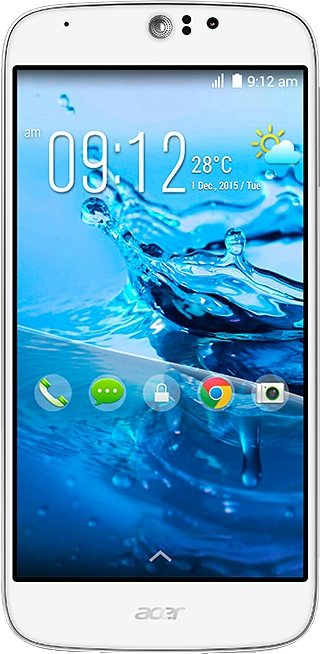 Acer Liquid Jade Z plus Smartphone, 12,7 cm (5 Zoll) Display, LTE (4G), Android 4.4, 13,0 Megapixel in weiß