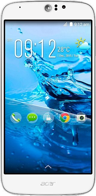 Acer Liquid Jade Z plus Smartphone, 12,7 cm (5 Zoll) Display, LTE (4G), Android 4.4, 13,0 Megapixel