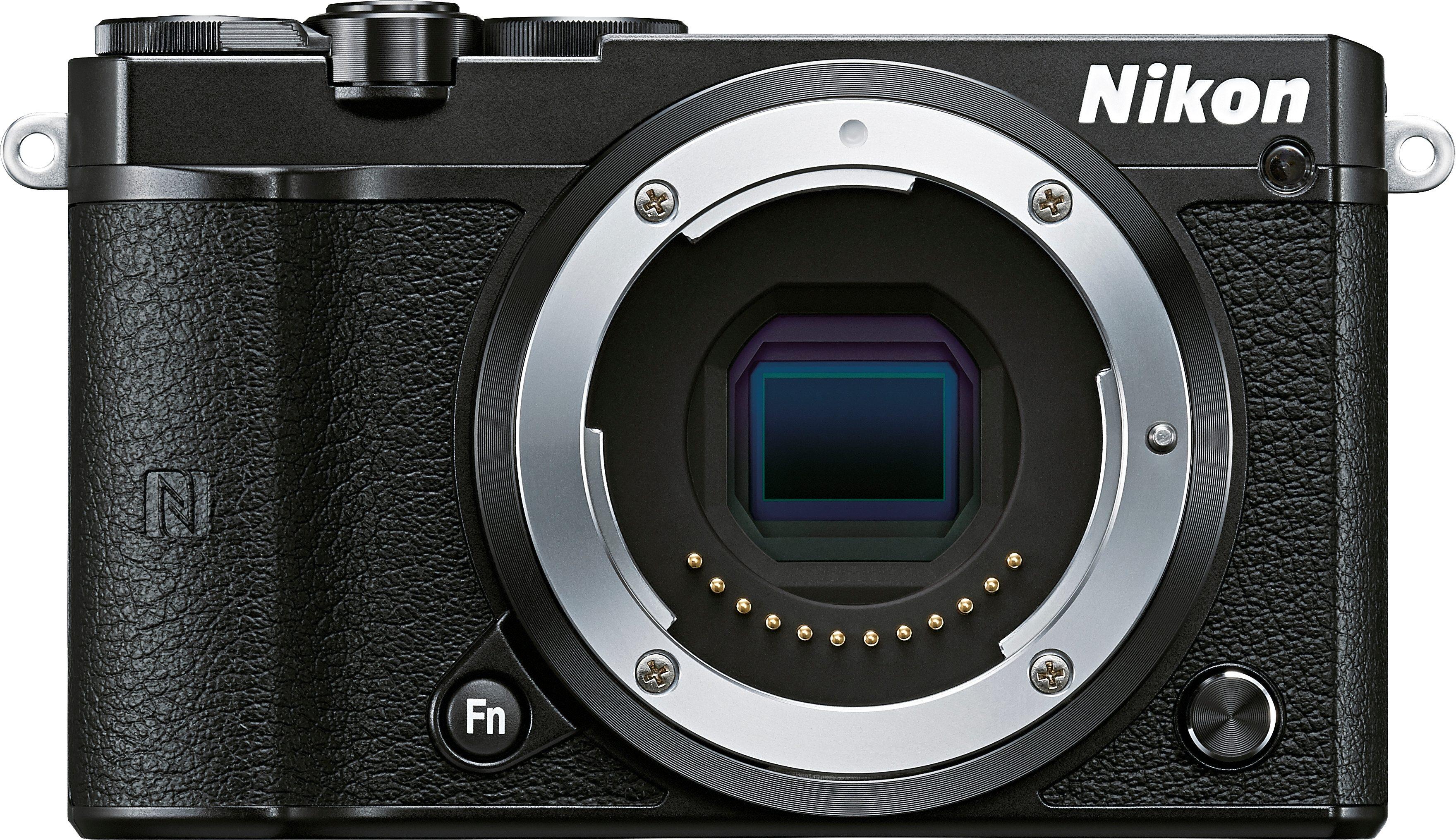 Nikon N1 J5 Body System Kamera, 20,8 Megapixel, 7,5 cm (3 Zoll) Display