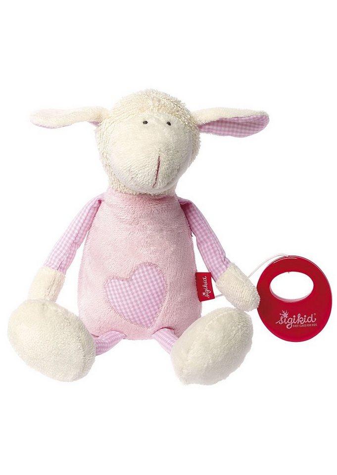 sigikid® Spieluhr rosa, »Organic Schaf - sigikid first hug« in rosa