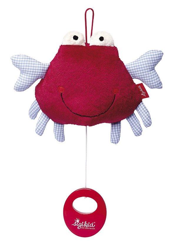 sigikid® Spieluhr, »Toy Ahoi! Krabbe« in rot