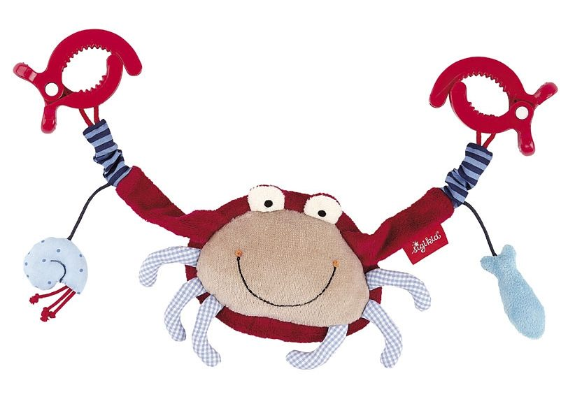 sigikid® Kinderwagenkette, »Toy Ahoi! Krabbe«