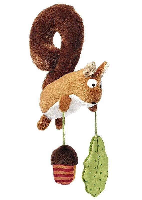 sigikid®, Spielanhänger für die Babyschale, »Eichhörnchen«