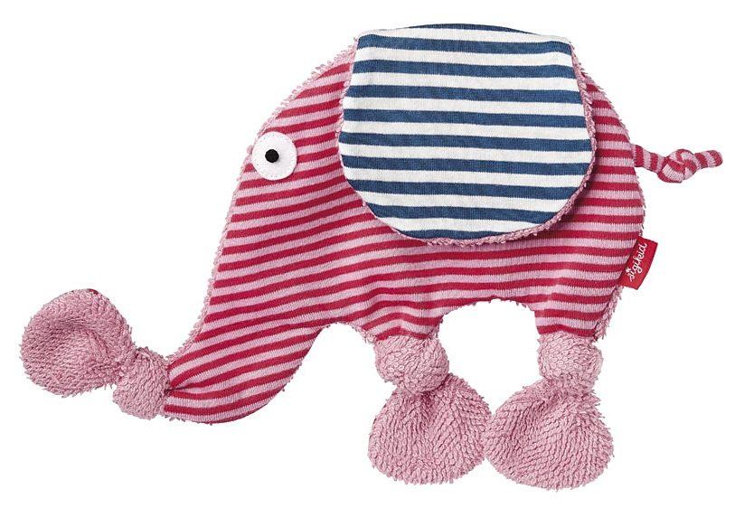 sigikid® Schnuffeltuch, »Mini Elefant«