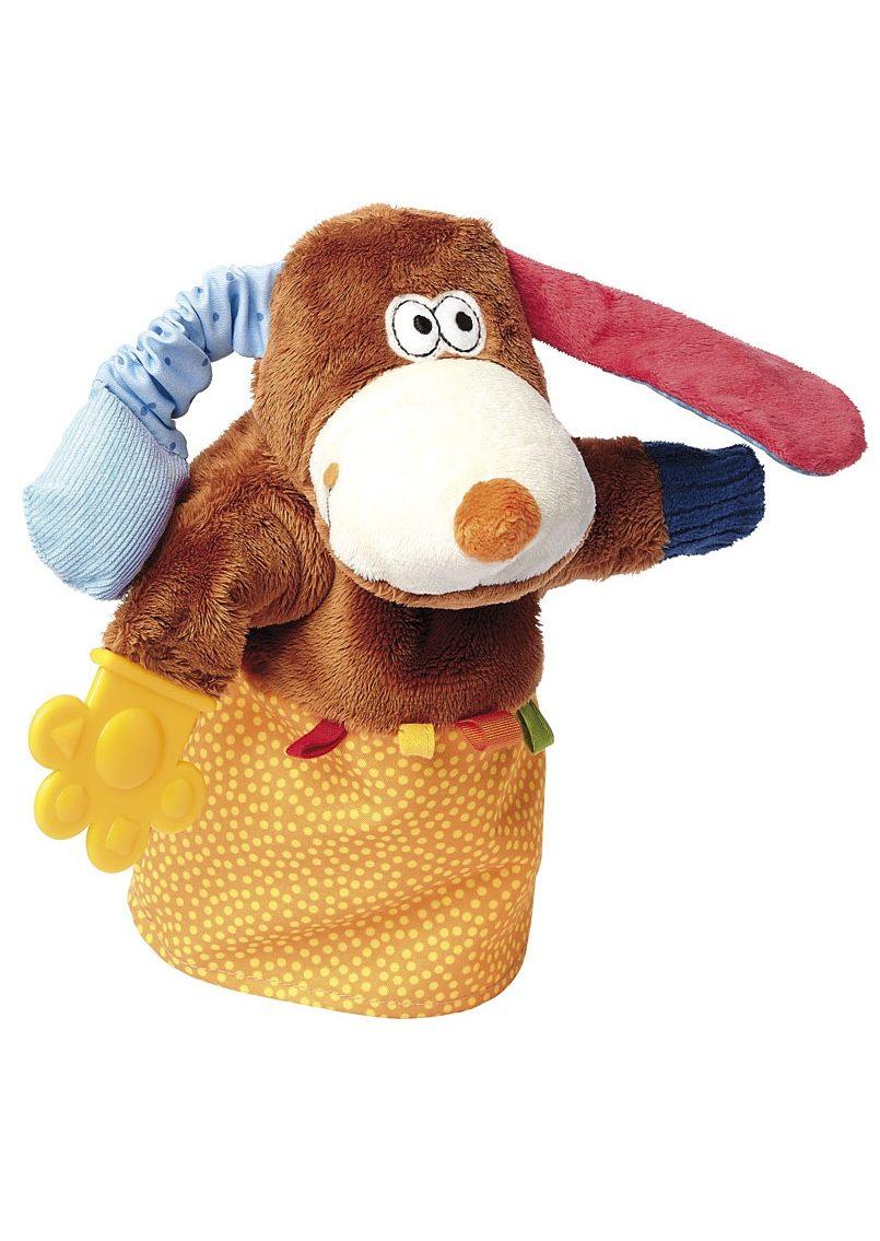 sigikid® Handpuppe, »PlayQ - Aktiv-Handpuppe Hund«