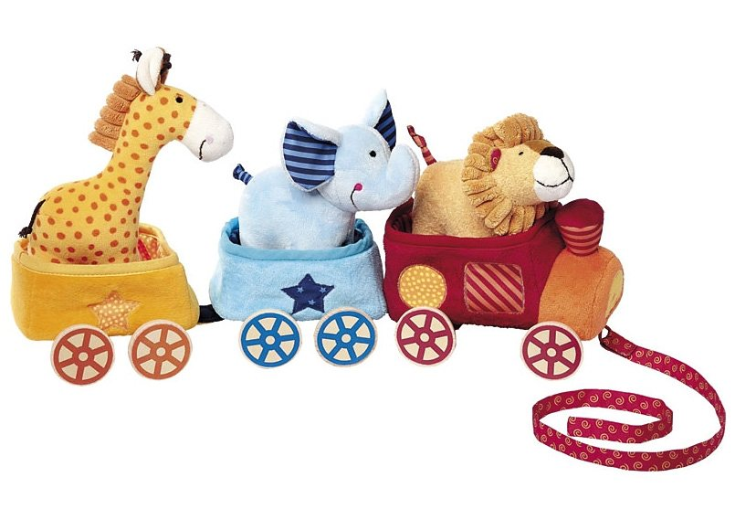 sigikid®, Aktiv Spielzeug, »PlayQ - Safari-Zug«