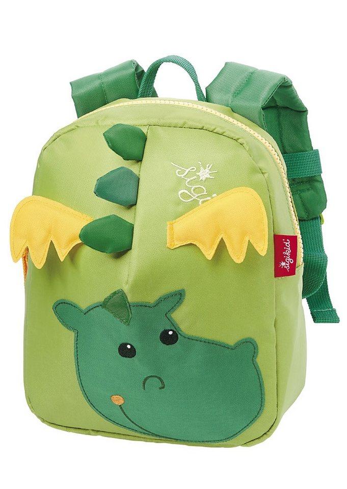 sigikid® Rucksack, »Drache« in grün