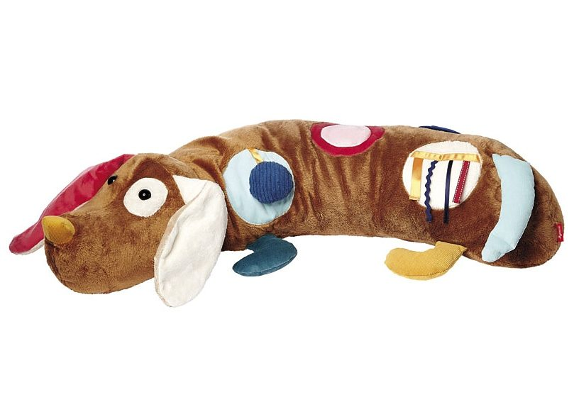 sigikid®, Kissen, »Aktiv Spielkissen PlayQ - Hund«