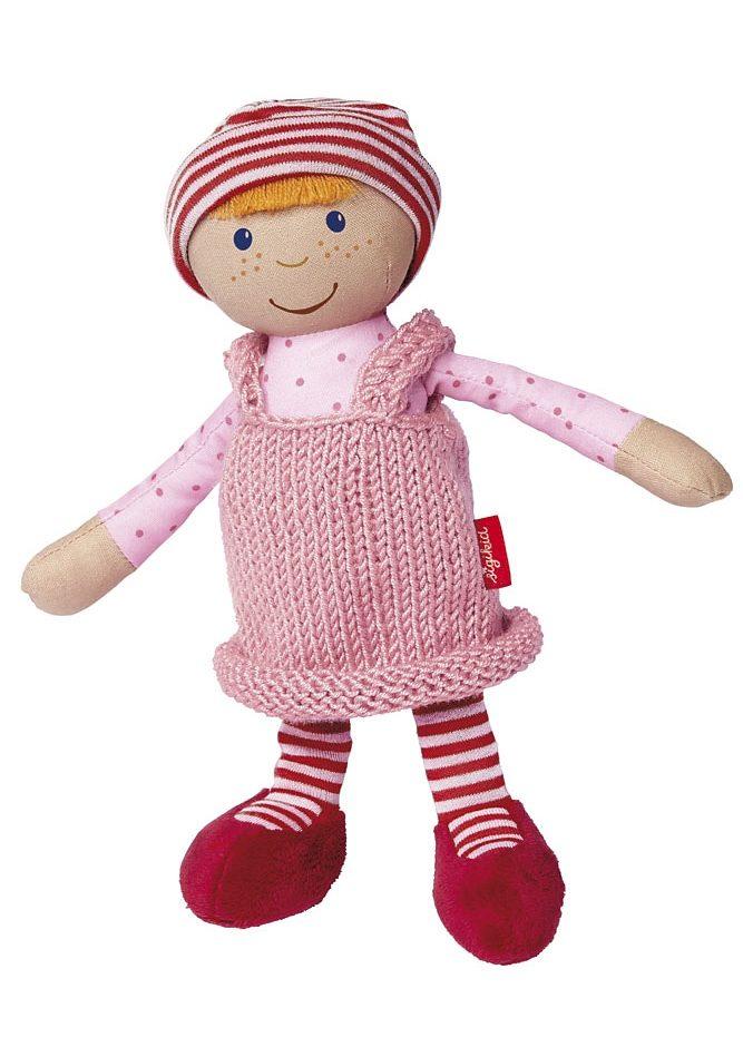 sigikid®, Puppe mit Strickkleid, rosa, »Sigidolly - Meine erste Puppe«