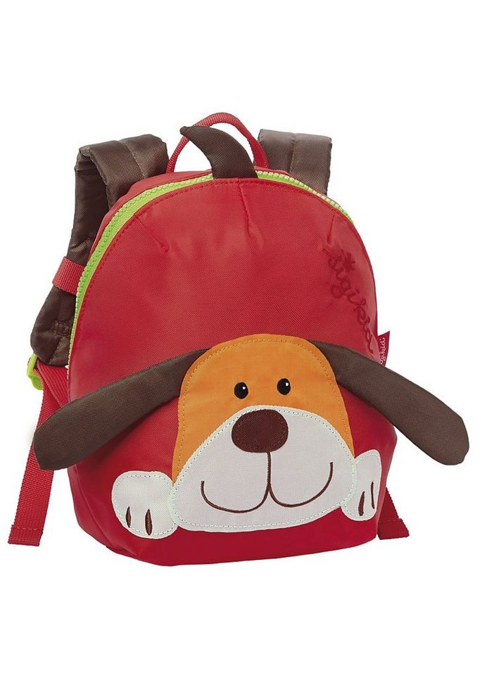 sigikid® Rucksack, »Hund« in rot
