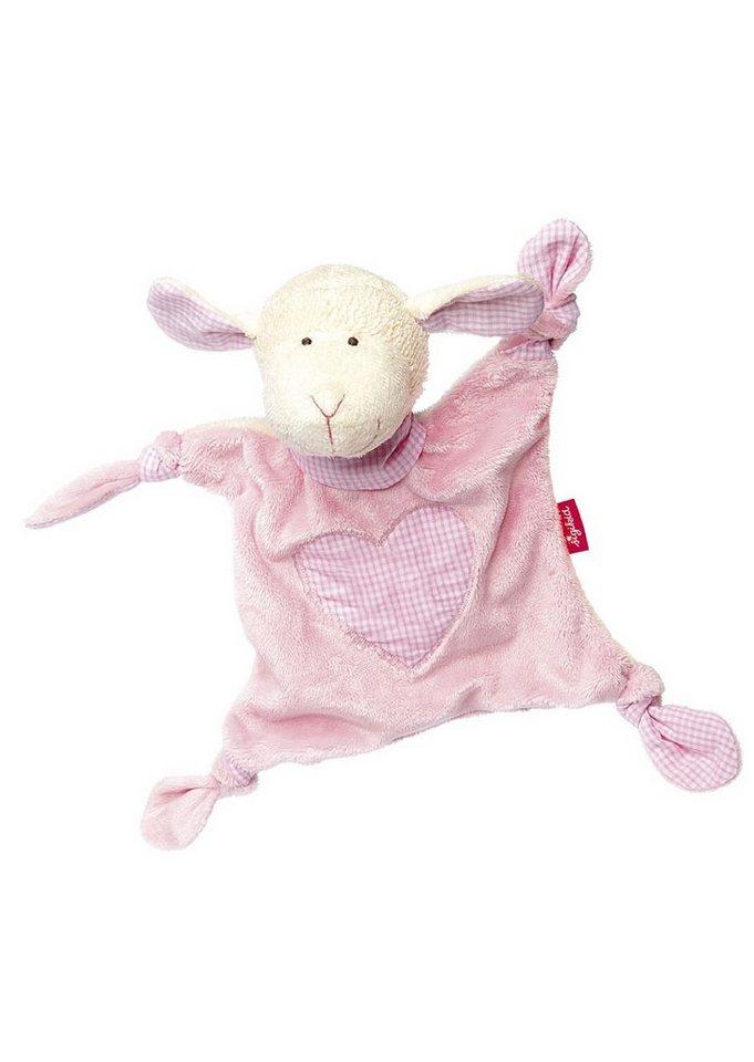 sigikid® Schnuffeltuch rosa, »Organic Schaf - sigikid first hugs« in rosa