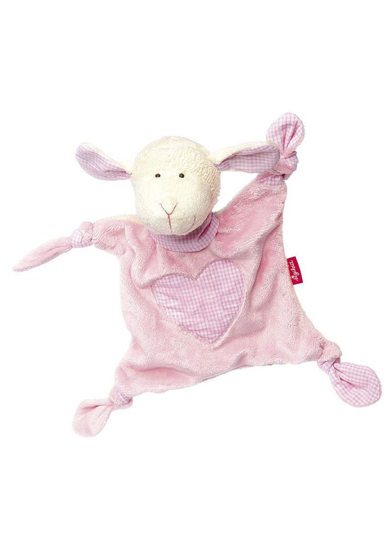 sigikid® Schnuffeltuch rosa, »Organic Schaf - sigikid first hugs«