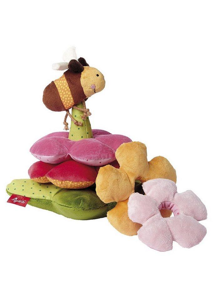 sigikid® Plüsch Stapelspiel, »PlayQ - Blumenturm mit Biene«