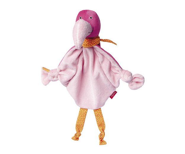 sigikid® Schnuffeltuch, »Flamingo«