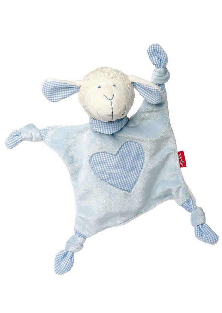 sigikid® Schnuffeltuch blau, »Organic Schaf - sigikid first hugs«
