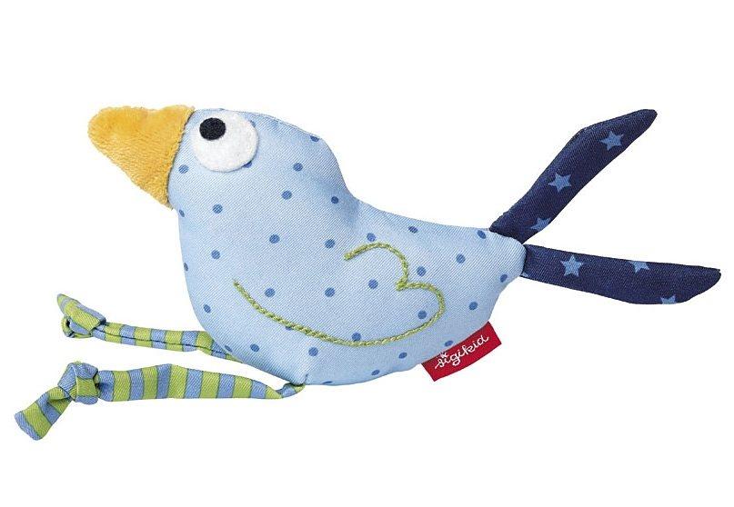 sigikid® Greifling blau, »Quietsch Quatsch - Vogel« in blau