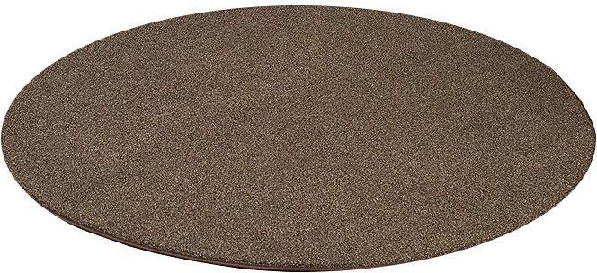 Teppich, Living Line, Rund, »Buffalo«, Velour in braun