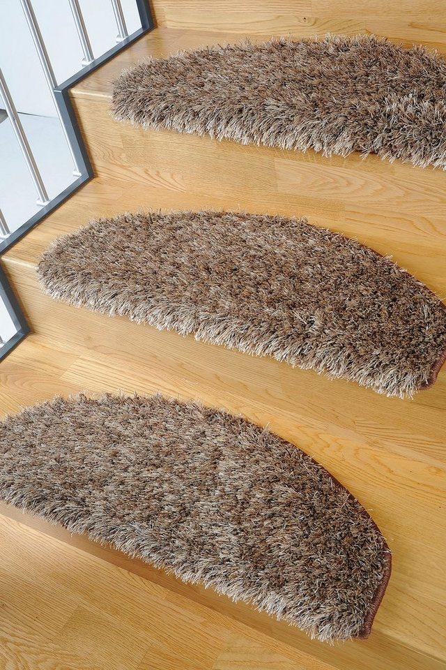 Stufenmatte, Living Line, »Loredo«, Hochflor, 15 Stück in beige