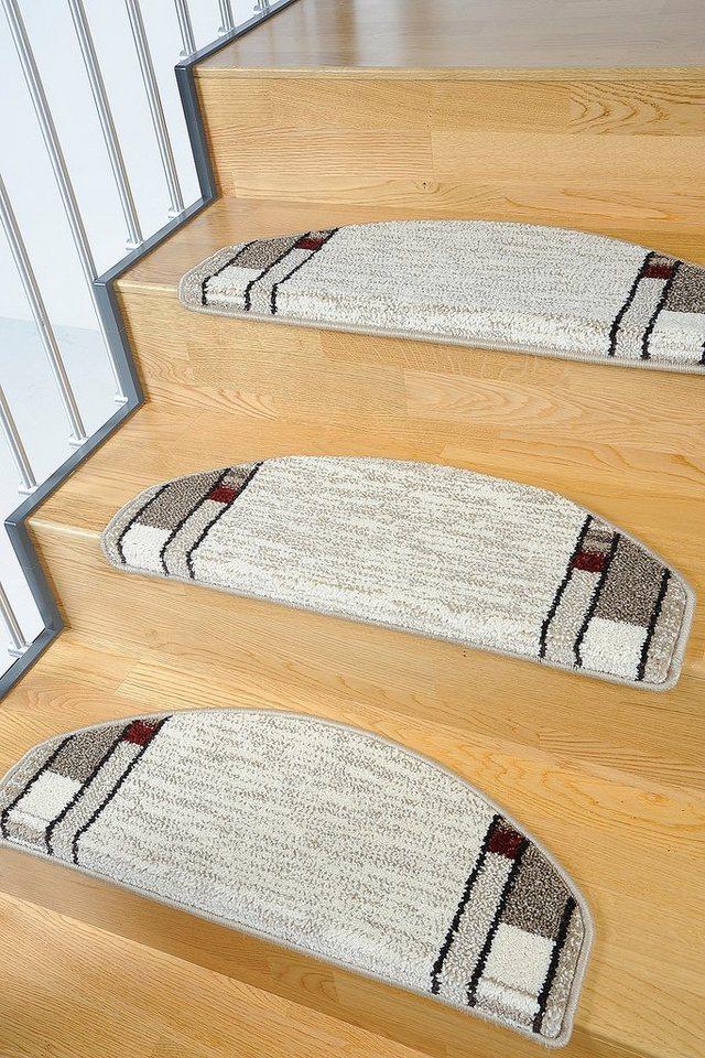 Stufenmatte, Living Line, »Casco 1«, 15 Stück in beige