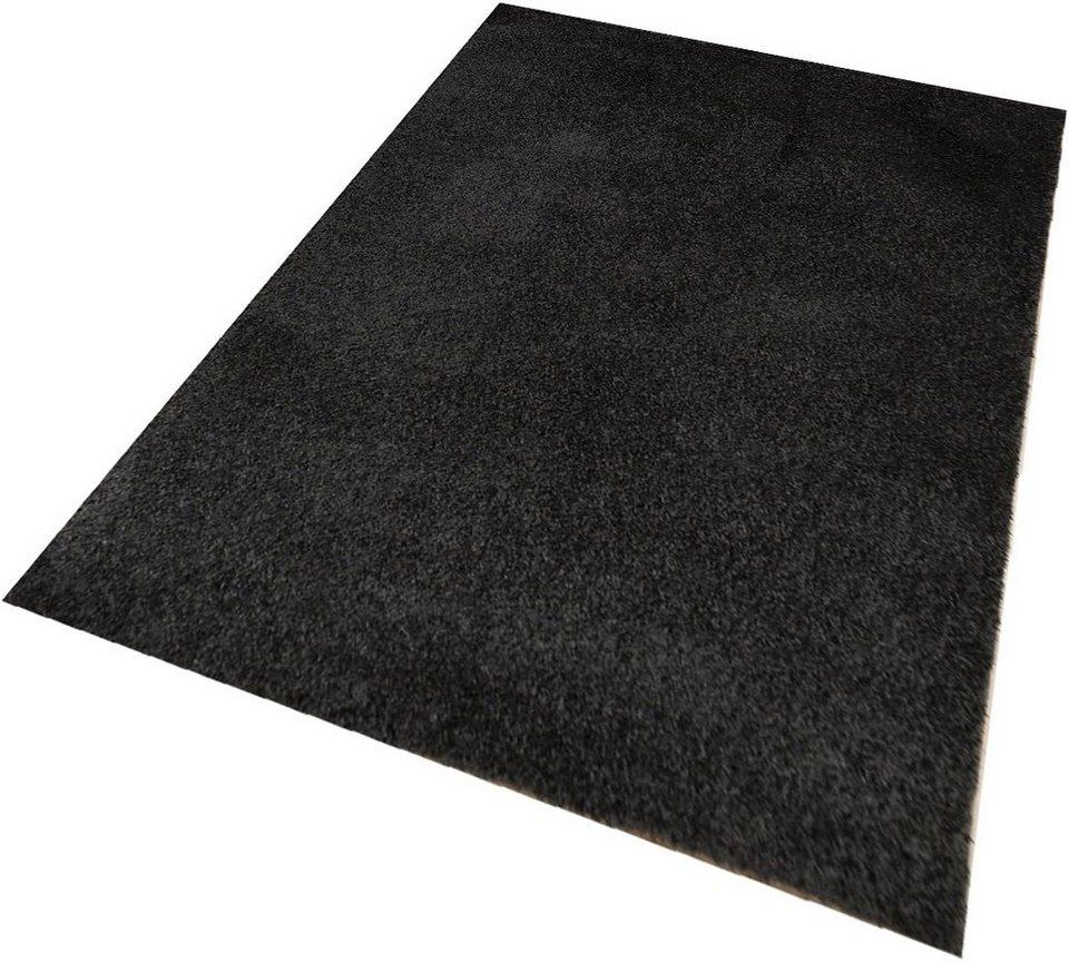Hochflor-Teppich, Living Line, »Euphoria«, Höhe 19 mm in anthrazit
