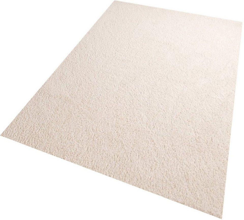 Hochflor-Teppich, Living Line, »Euphoria«, Höhe 19 mm in weiß