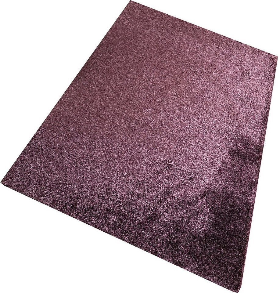 Hochflor-Teppich, Living Line, »Loredo«, Höhe 30 mm in lila