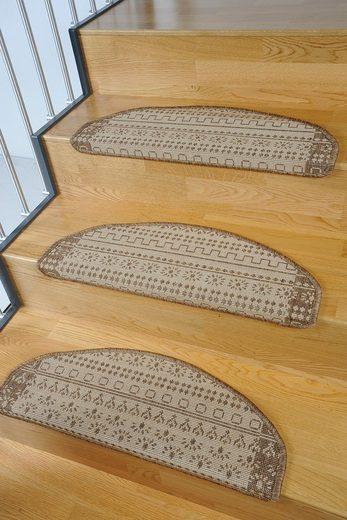 Stufenmatte »Elvet«, Living Line, stufenförmig, Höhe 6 mm, Sisal-Optik