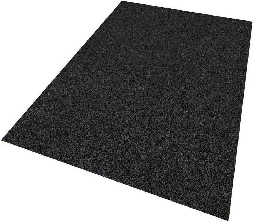 Grauer teppich  Teppich »Burbon«, Living Line, rechteckig, Höhe 105 mm, Velours ...