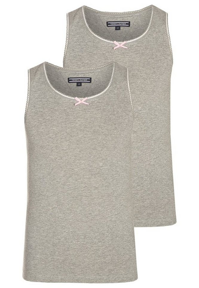 Tommy Hilfiger Tops »2 PACK TANKTOP« in GREY HEATHER