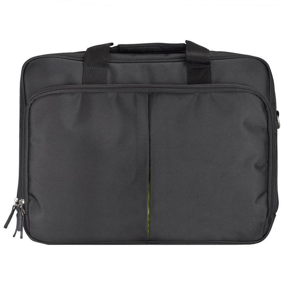 d & n Basic Aktentasche Laptoptasche 41 cm in schwarz