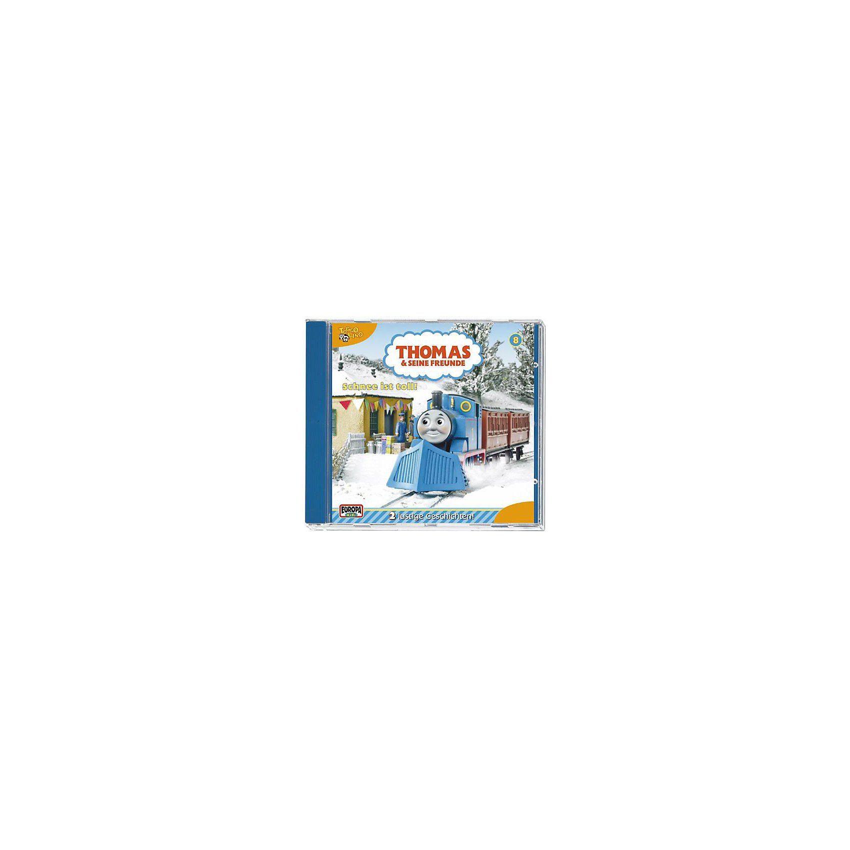 Sony CD Thomas und seine Freunde 08: Schnee ist toll