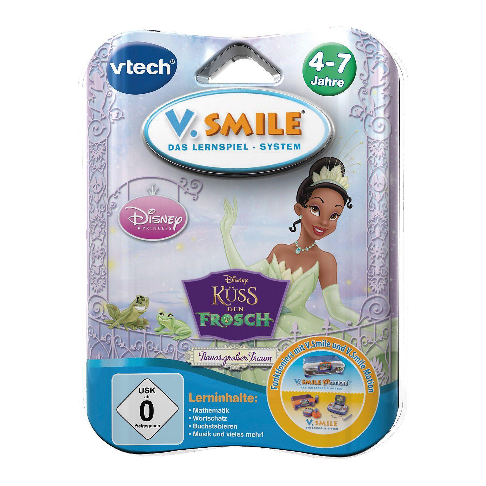 """Vtech V.Smile Lernspiel """"Küss den Frosch"""""""