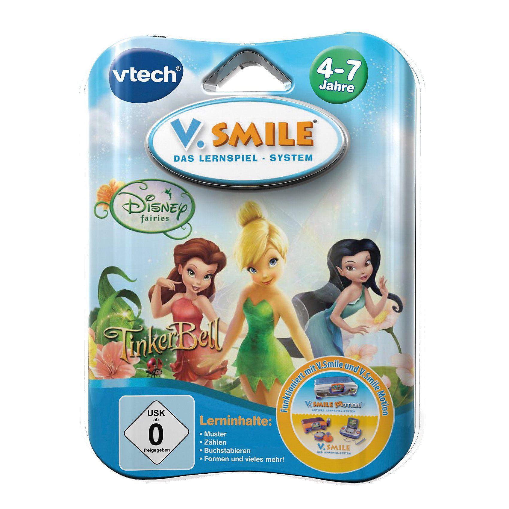 "Vtech V.Smile Lernspiel ""Tinkerbell"""