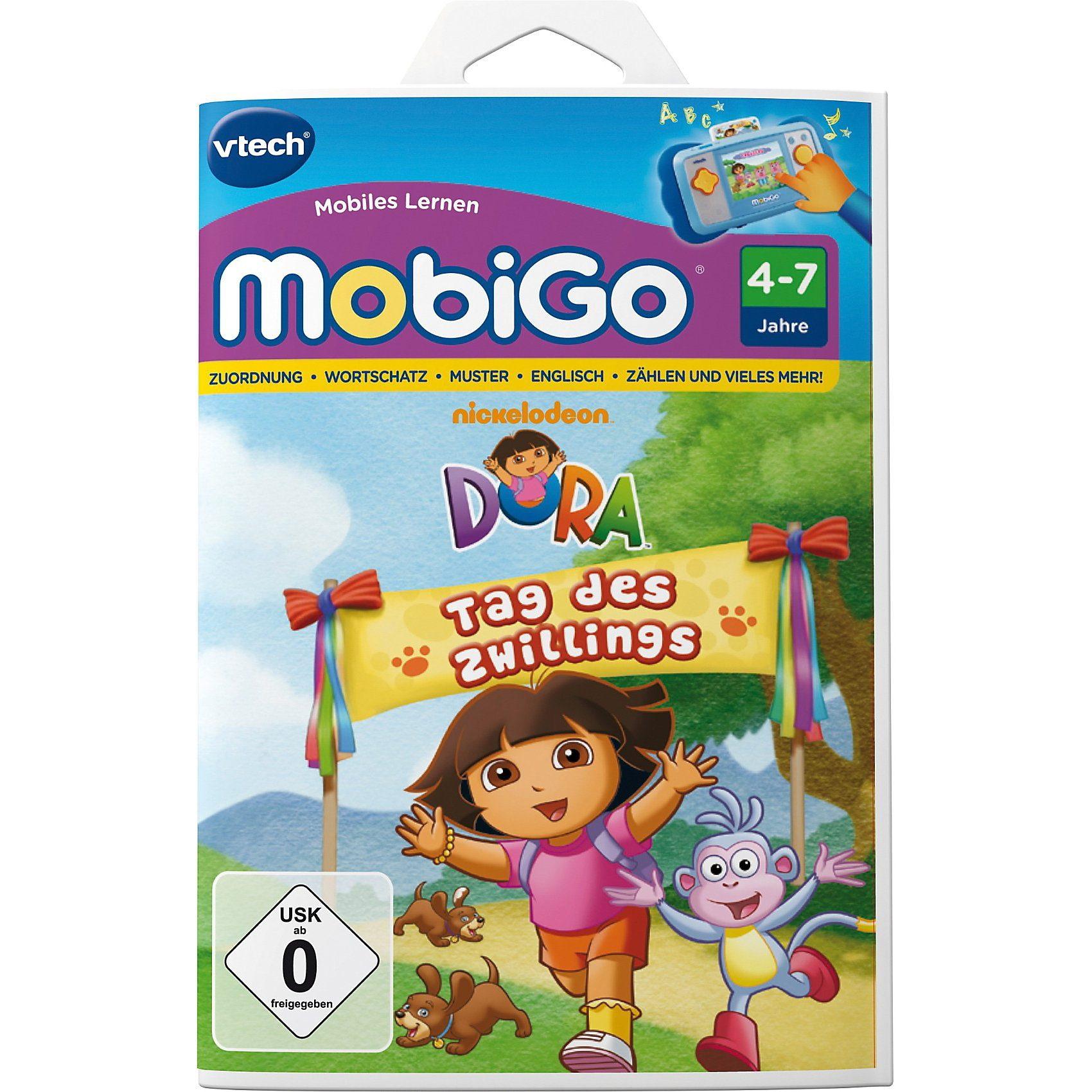 """Vtech MobiGo Lernspiel """"Dora"""""""