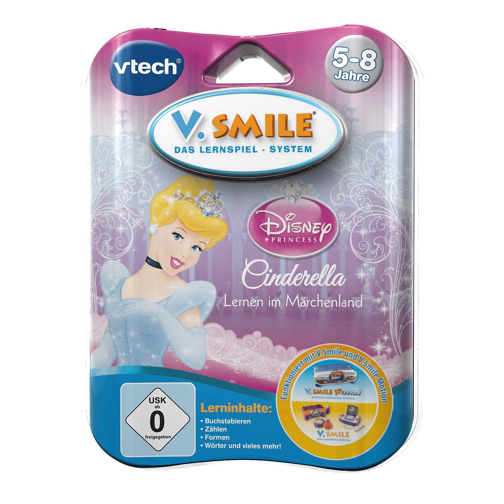 """Vtech V.Smile Lernspiel """"Cinderella"""""""
