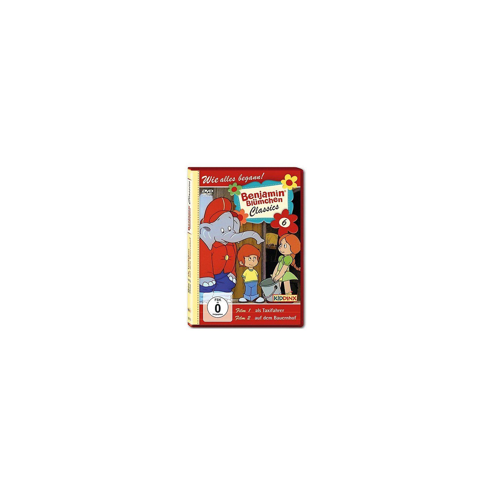 Kiddinx DVD Benjamin Blümchen Classic 06 als Taxifahrer/ auf dem Bau