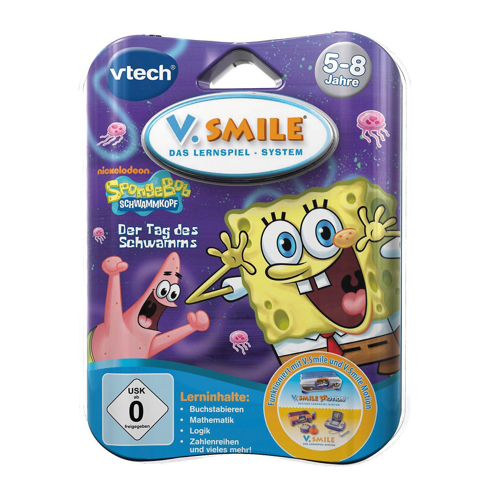 "Vtech V.Smile Lernspiel ""SpongeBob Schwammkopf"""