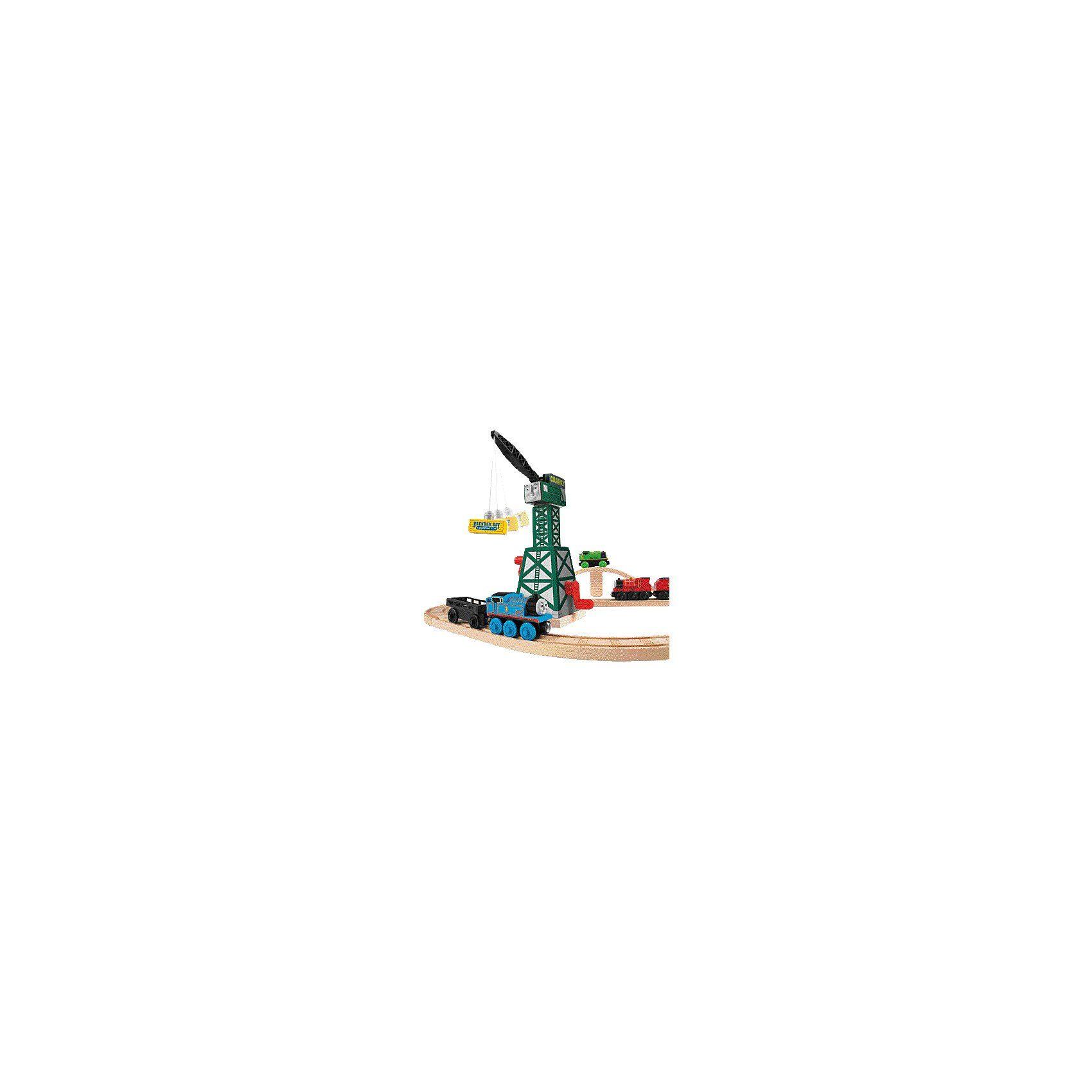 Mattel Thomas und seine Freunde - Cranky der Kran (Holz)