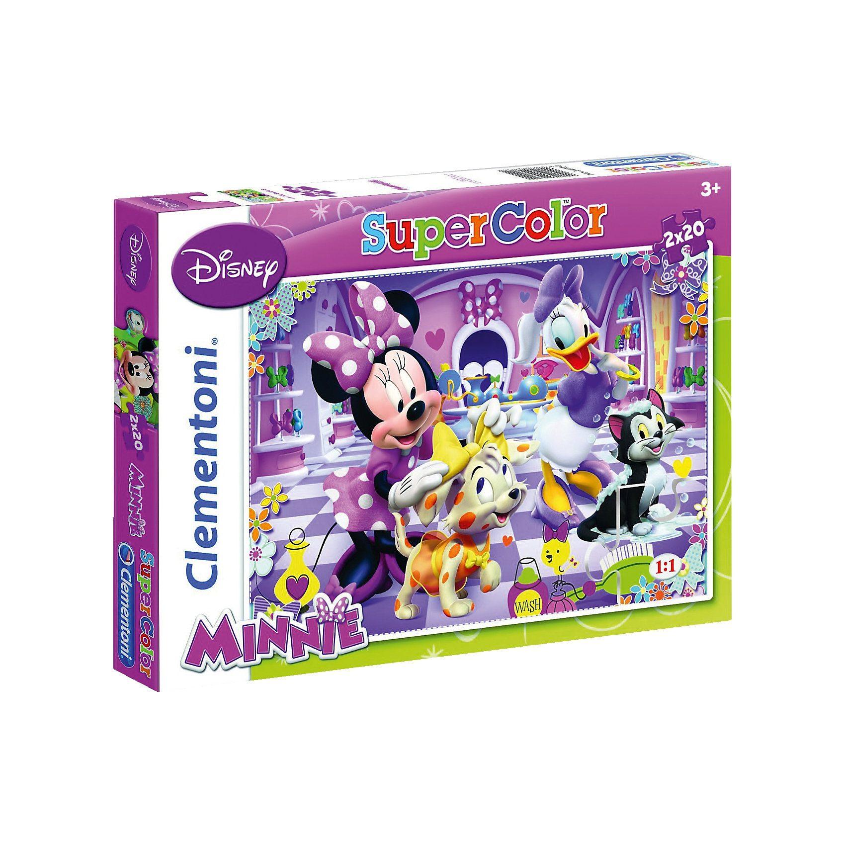 Clementoni Puzzle 2 x 20 Teile - Minnie