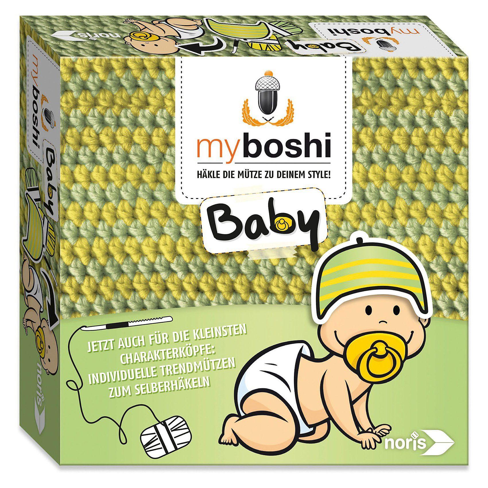 Noris myboshi Baby Häkel-Set - Yamamogli/Iwaki