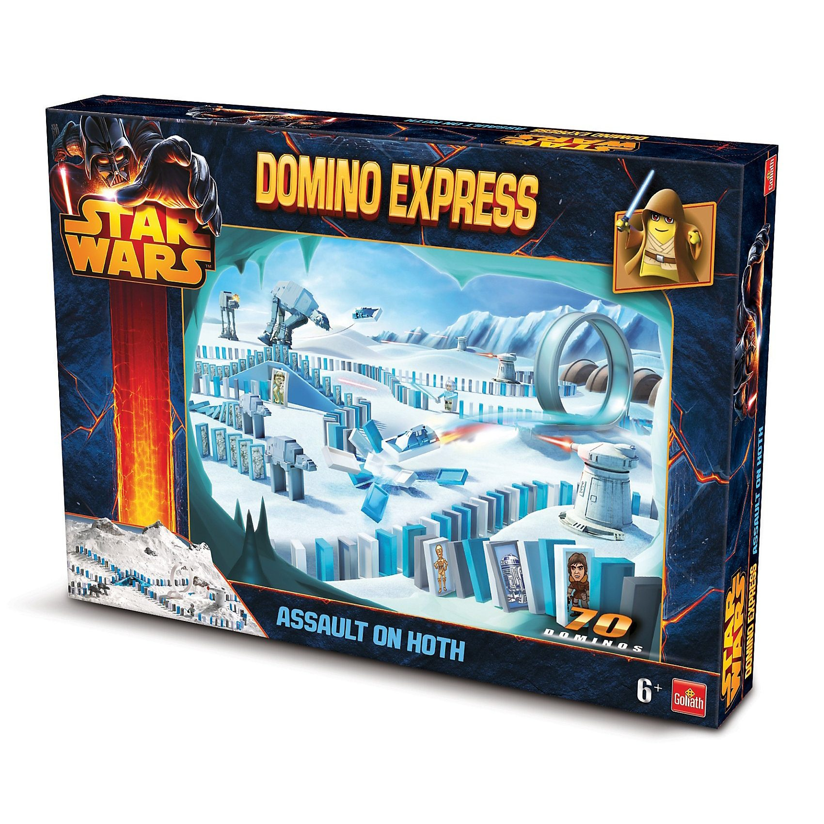 Goliath® Domino Express Star Wars Set Assault on Hoth