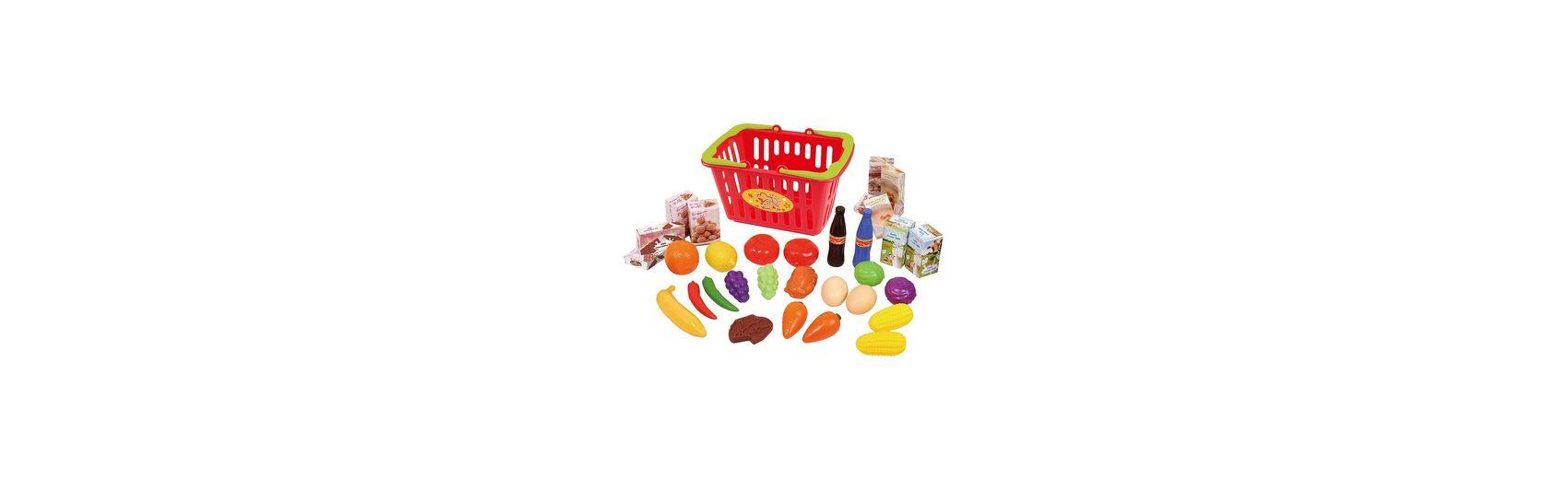 Playgo Einkaufskorb gefüllt, 32-teilig